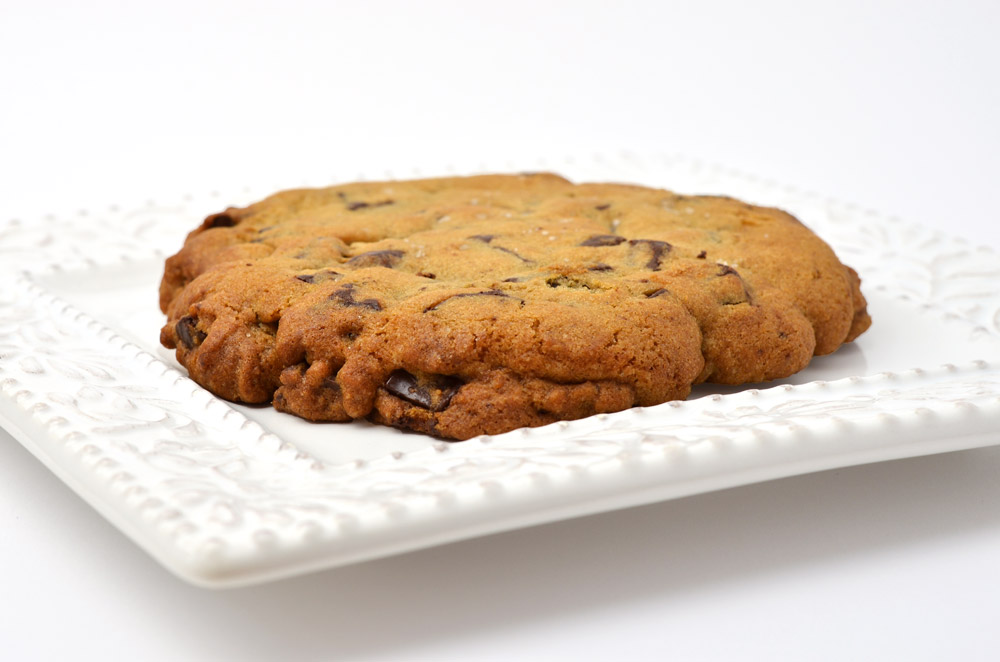 Jumbo Chocolate Chunk Cookie with Vanilla Sea Salt