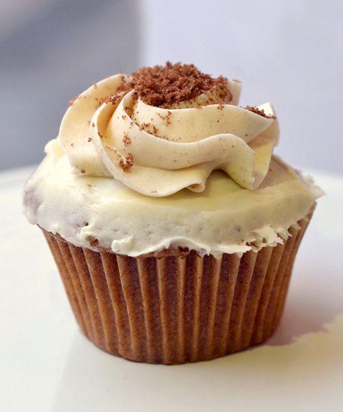 Huascar and Company Bakeshop Cinnamon Roll Cupcake