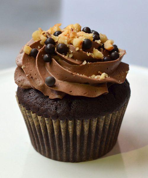 Huascar and Company Bakeshop Nutty Fella Cupcake