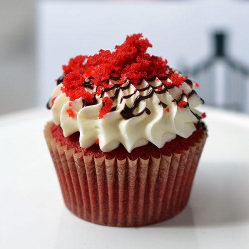 Huascar and Company Bakeshop Scarlet Velvet Cupcake