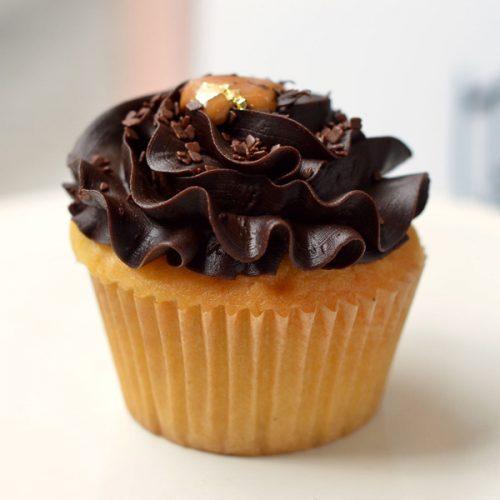 Huascar and Company Bakeshop Vanilla Extrovert Cupcake