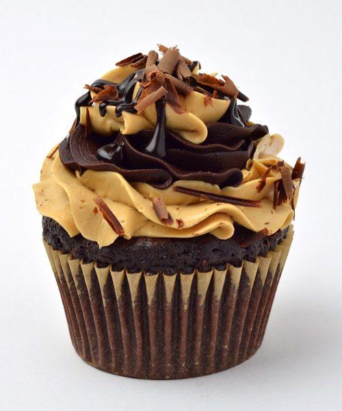 Huascar and Company Bakeshop Gluten-Free Mocha Cupcake