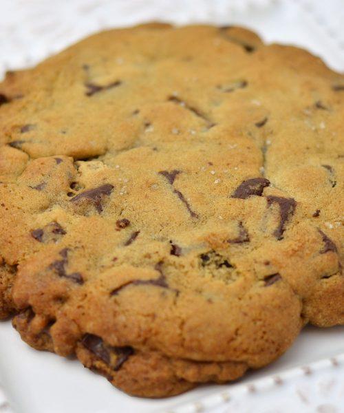Huascar and Company Bakeshop Jumbo Chocolate Chunk Cookie with Sea Salt