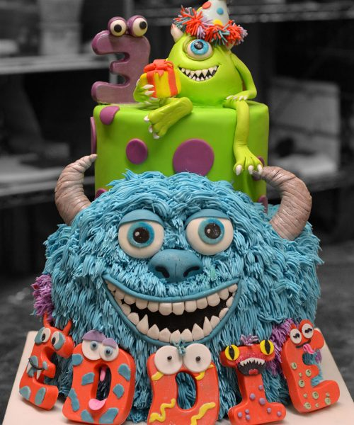Monsters, Inc. Birthday Cake