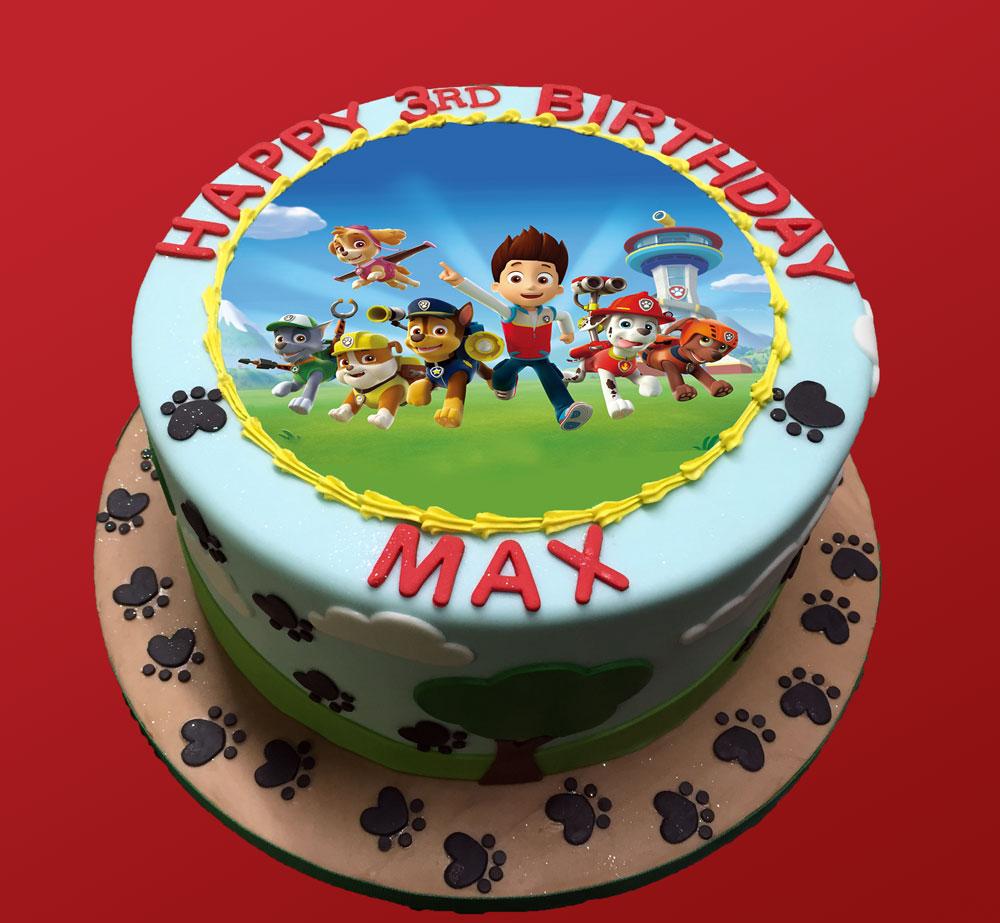 Cake Ornament Co Cake Art : Paw Patrol Birthday Cake   HUASCAR & CO. BAKESHOP