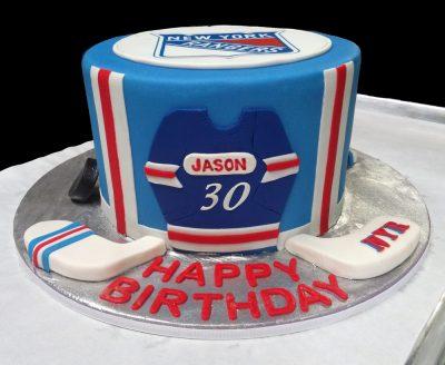 Rangers Fan Birthday Cake