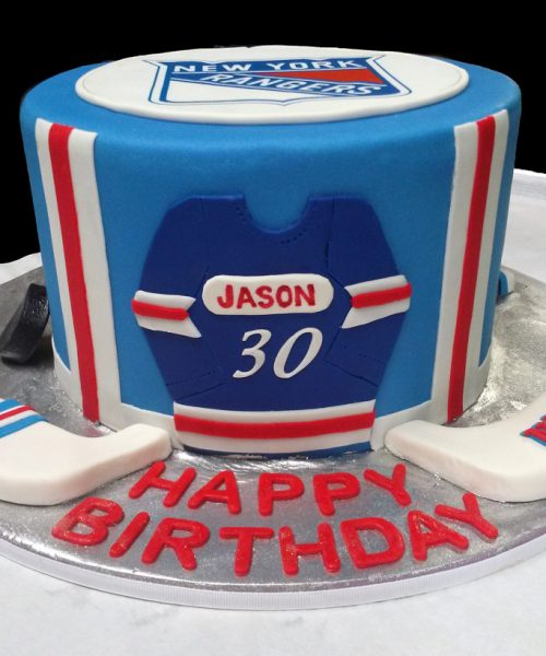 Rangers Fan Birthday Cake