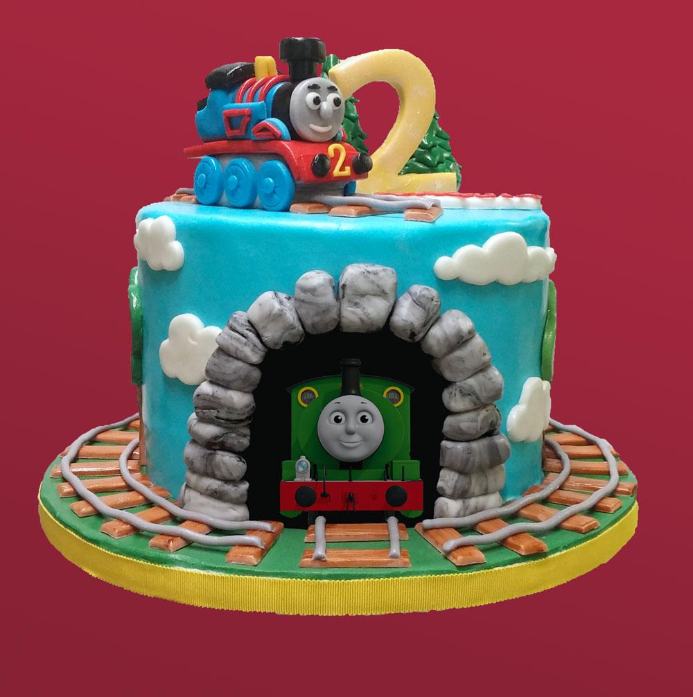 Thomas Friends Birthday Cake Huascar Co Bakeshop
