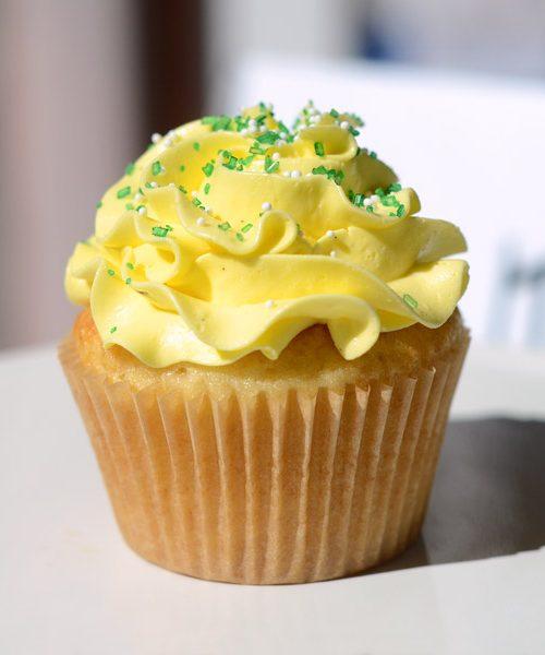 Huascar and Company Bakeshop Gluten-free Vanilla Cupcake