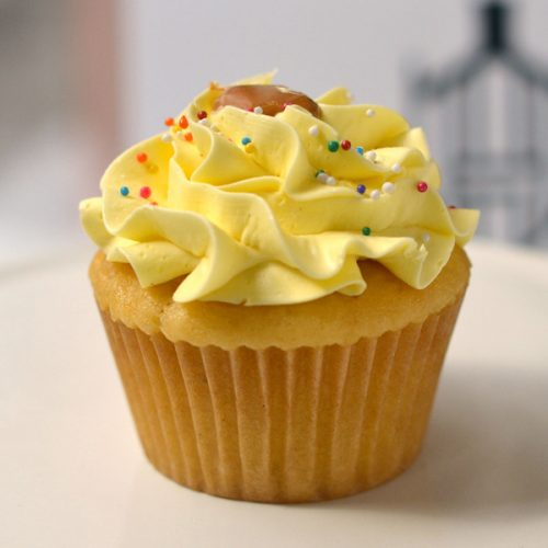 Huascar Co Bakeshop Vanilla Introvert Cupcake