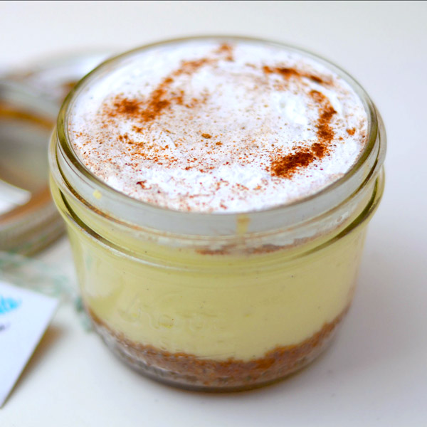 Huascar and Company Empire State Mason Jar Cheesecake