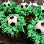 Huascar and Company Bakeshop Custom Birthday Cupcakes for Soccer Fan