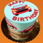 Huascar and Company Bakeshop Race Cars Birthday Cake