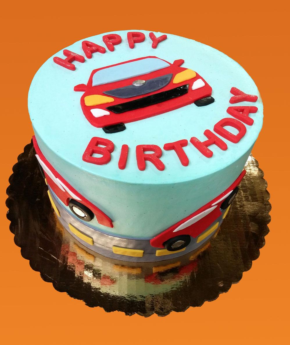 Race Cars Birthday Cake Huascar Co Bakeshop