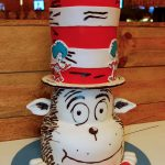 Huascar and Company Bakeshop Cat in the Hat Birthday Cake