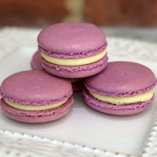 Huascar and Company Bakeshop Gluten-Free Lavender Fields French Macaron