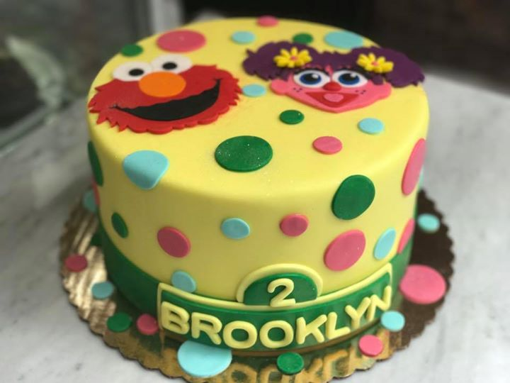 Happy Birthday sweet Brooklyn From Elmo Abby and HUASCAR CO