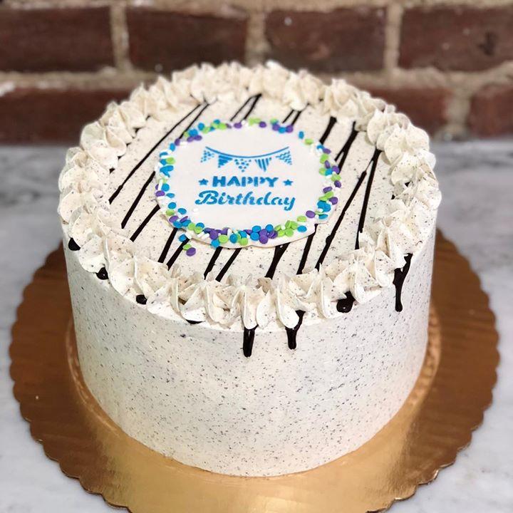 Enjoyable Simple Yet Cute Birthday Cake Customcake Huascar Co Funny Birthday Cards Online Alyptdamsfinfo