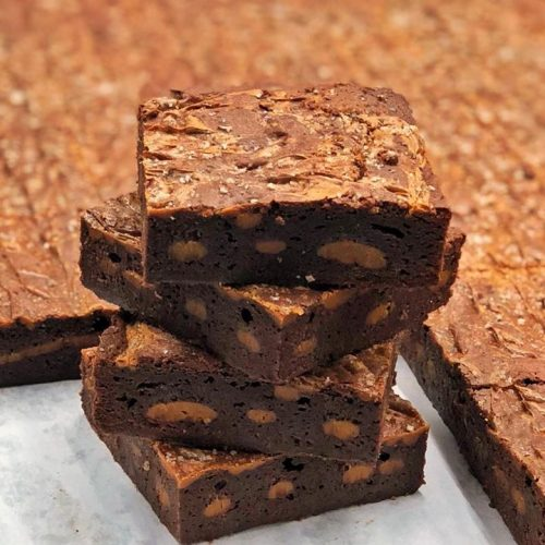 Huascar and Company Bakeshop Salted Dulce de Leche Brownie