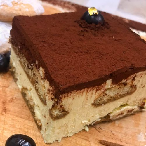 Huascar and Company Bakeshop Tiramisu Cake