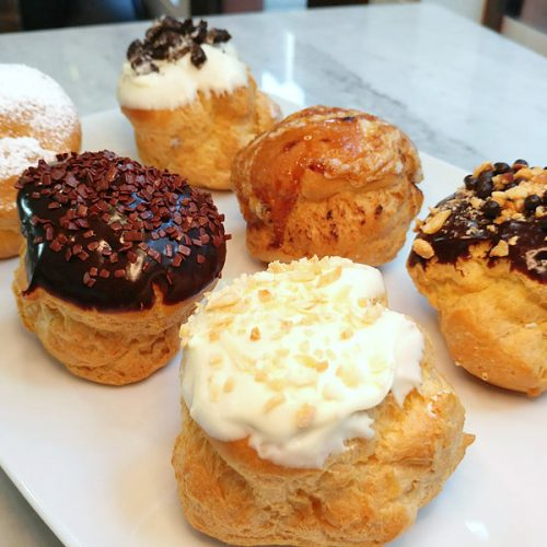 Huascar and Company Bakeshop Cream Puffs