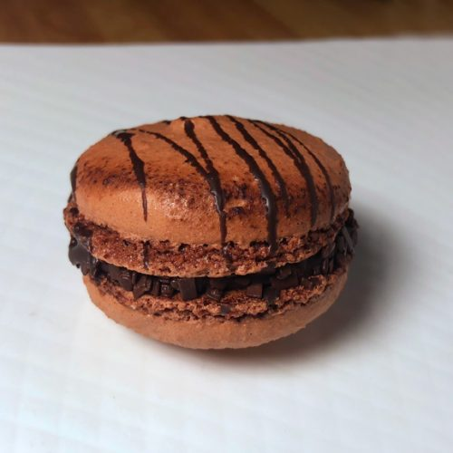 Huascar and Company Bakeshop Gluten-Free Chocolate-Marshmallow French Macaron