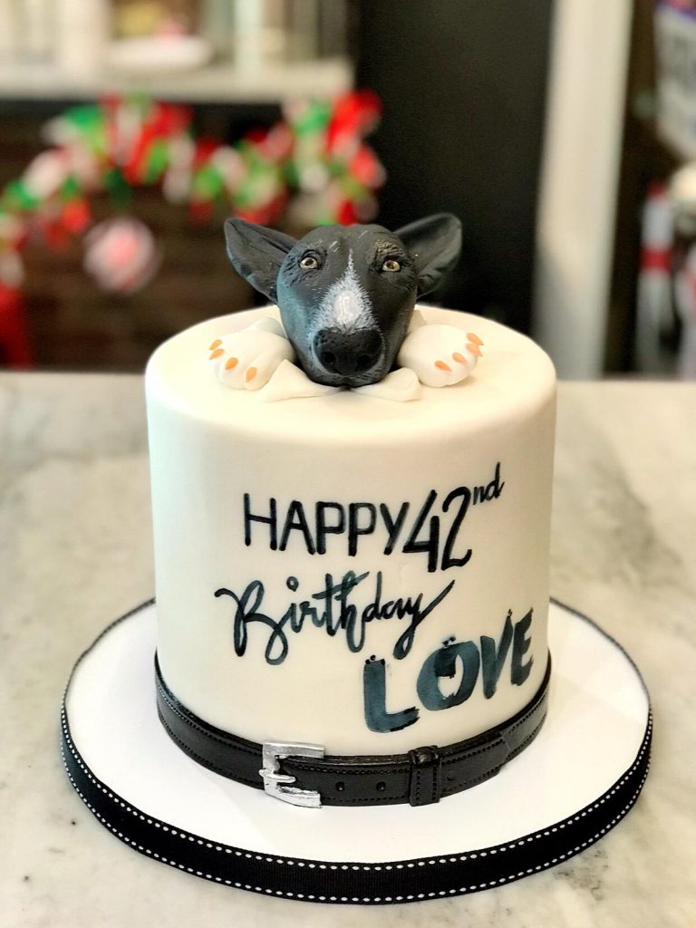 Huascar & Company Bakeshop Puppy Love Cake