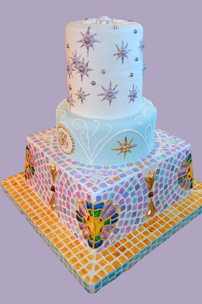 Huascar & Company Bakeshop Art Nouveau Moderniste Cake