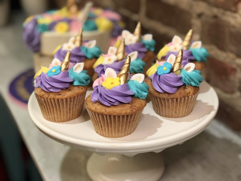 Huascar & Company Bakeshop Unicorn Cupcakes