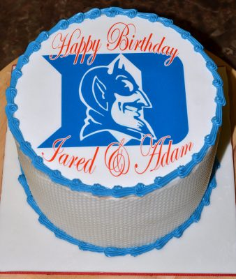 Huascar & Company Bakeshop Duke University Blue Devils Cake