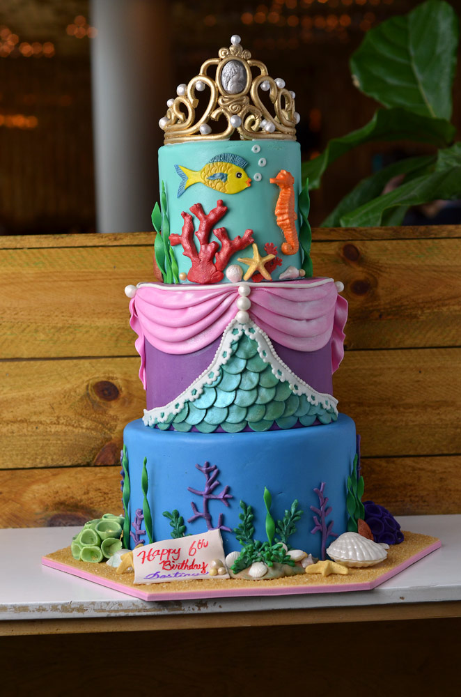 Huascar & Company Bakeshop Sea Princess Cake