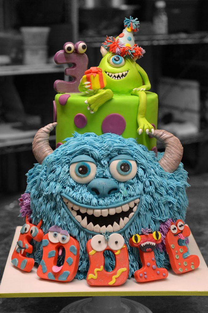Huascar & Company Bakeshop Monsters Inc. Cake