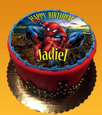 Huascar & Company Bakeshop Spider-Man Edible Image Cake