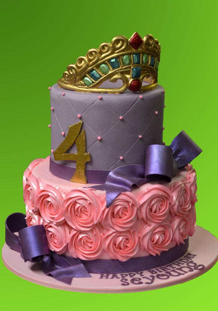 Huascar & Company Bakeshop Rosettes Princess Cake