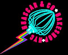 Huascar & Company Bakeshop Logo Pride Small